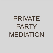 Private Party Mediation